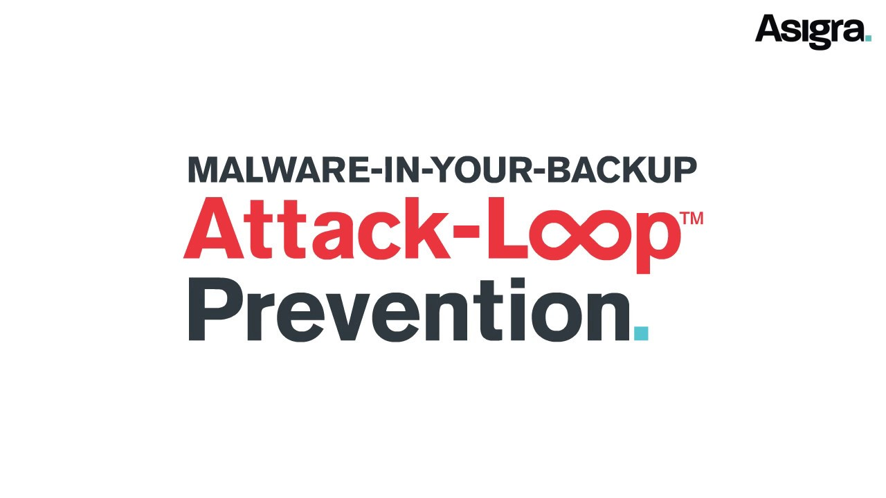 ST-FOUR Asigra Attack Loop Ransomware protection